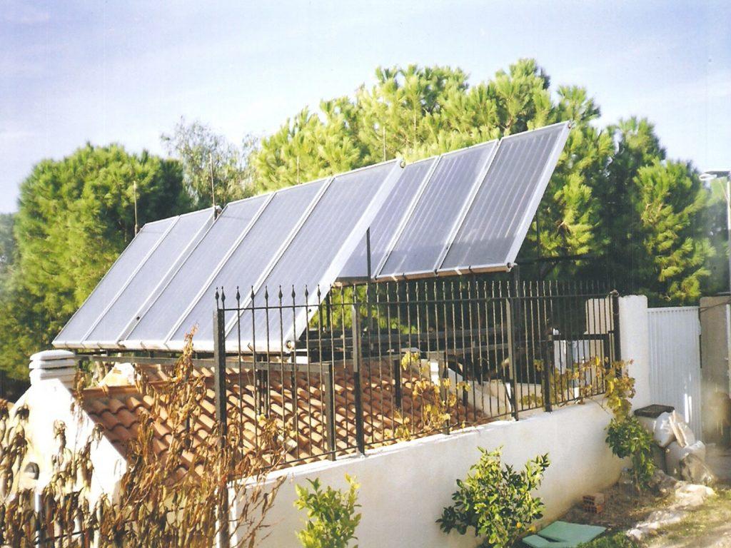 Mekan ısıtma desteği sistemi güneş kollektörleri yerleşimi